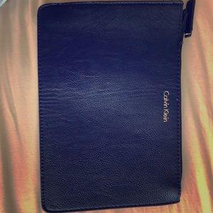Navy blue Calvin Klein purse